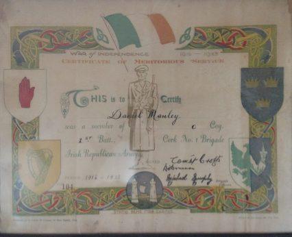 Manley certificate