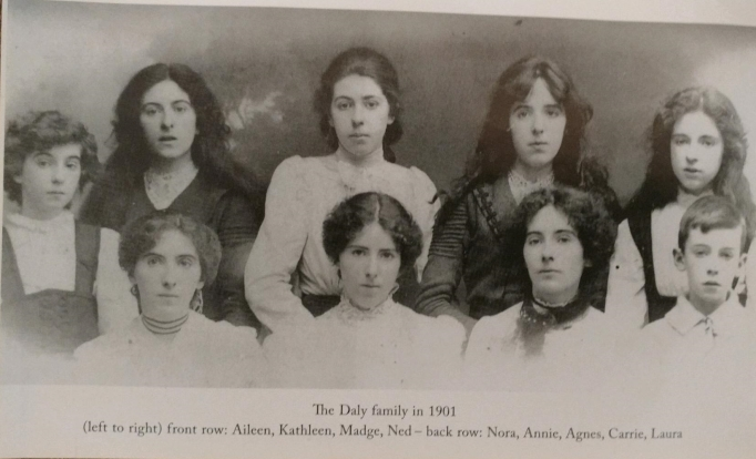 The Daly Family in 1901